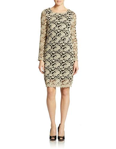 ROMEO AND JULIET COUTUREDamask Print Sheath Dress