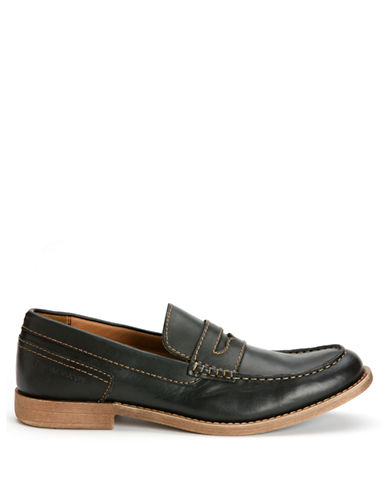 CALVIN KLEINPrezley Leather Penny Loafers