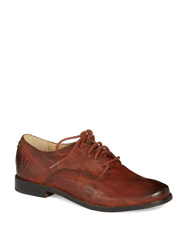 FRYE Anna Leather Oxfords