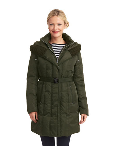 VINCE CAMUTOZip Up Puffer Coat