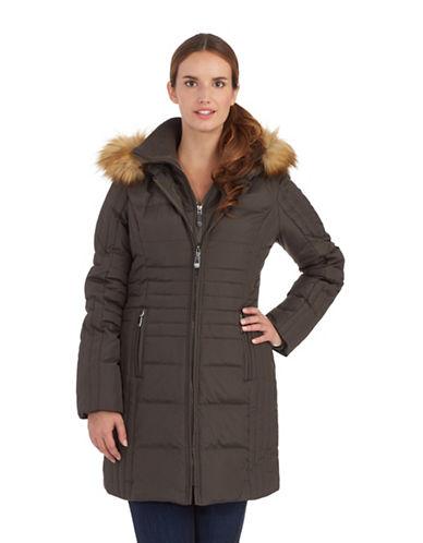 VINCE CAMUTOPlus Bib Accented Puffer Coat