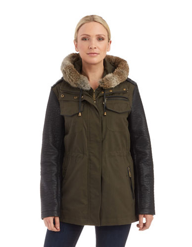 VINCE CAMUTOMixed Media Coat