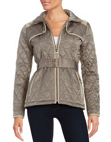 vince camuto female 45906 quilted zipup jacket