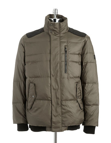 Tumi Quilted Down Coat