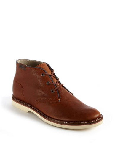 LACOSTE Sherbrooke Leather Chukka Boots