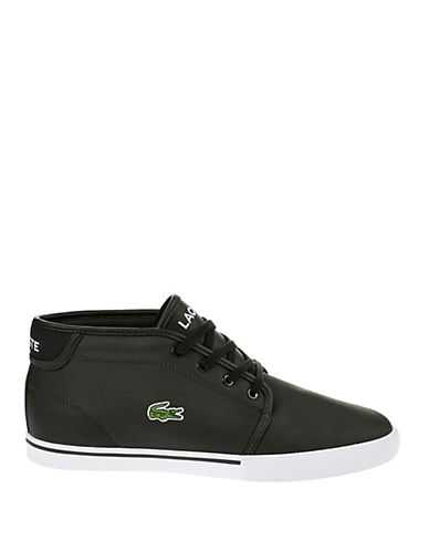 LACOSTE Leather Chukka-Style Sneakers