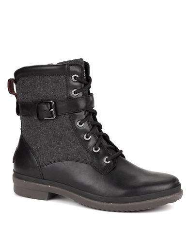 UGG AUSTRALIA Ladies Kesey Waterproof Leather and Textile Boots