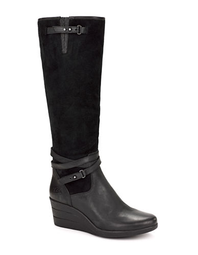 UGG AUSTRALIALesley Waterproof Leather Tall Boots