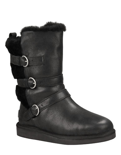 UGG AUSTRALIA Ladies Becket Water Resistant Leather Boots