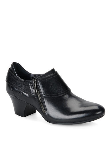 BORNHuntley Leather Ankle Boots