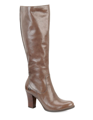 BORNBrie Leather Knee-High Boots