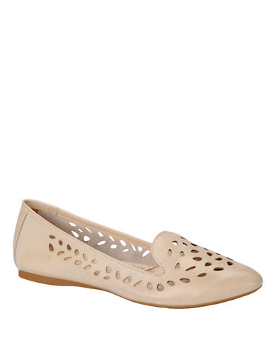 BORN Tinley Full-Grain Leather Flats