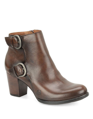 BORN Ondine Leather Ankle Boots