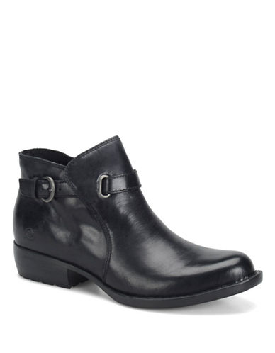 BORN Jem Leather Ankle Boots