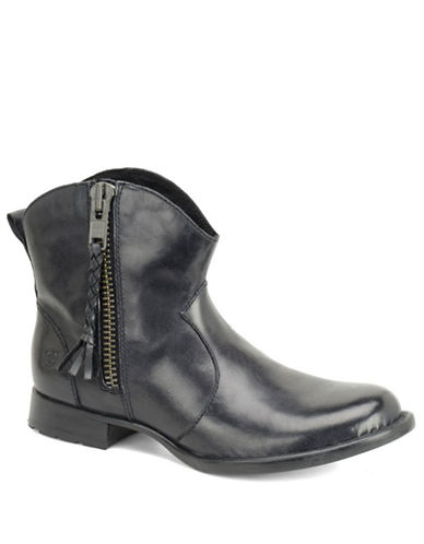 BORNGilly Leather Ankle Boots