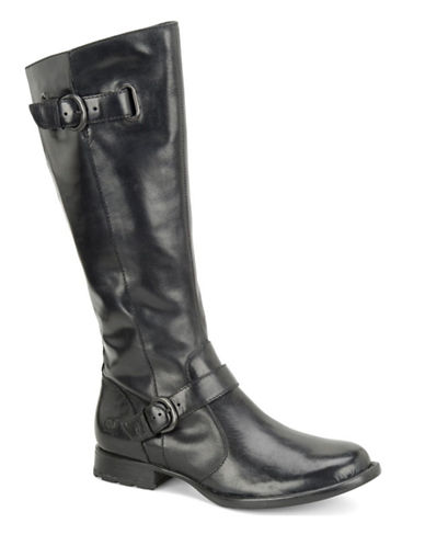 BORN Jorah Leather Knee Boots