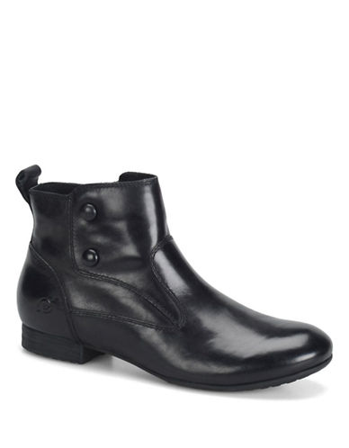 BORN Cidney Leather Ankle Boots
