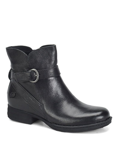 BORN Mairead Leather Ankle Boots