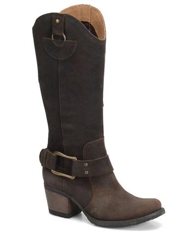 BORNLoreza Leather Heeled Boots