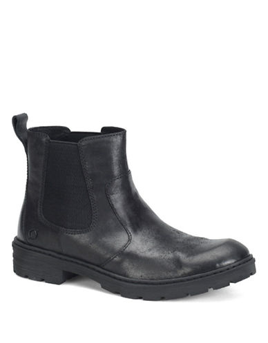 BORN SHOE Irving Leather Ankle Boots
