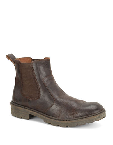 BORN SHOEIrving Leather Ankle Boots