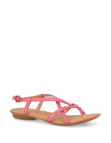 BORN Mai Leather Thong Sandals