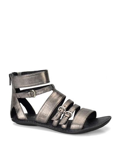 BORNLuci Leather Gladiator Sandals