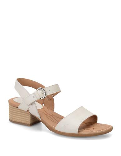 BORNDoree High-Heel Leather Sandals