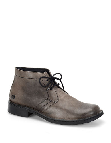 BORN SHOE Harrison Leather Chukka Boots