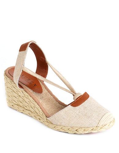 LAUREN RALPH LAURENCala Slingback Wedge Sandals