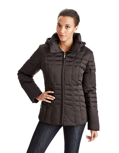 Calvin Klein Petite Quilted Down Coat