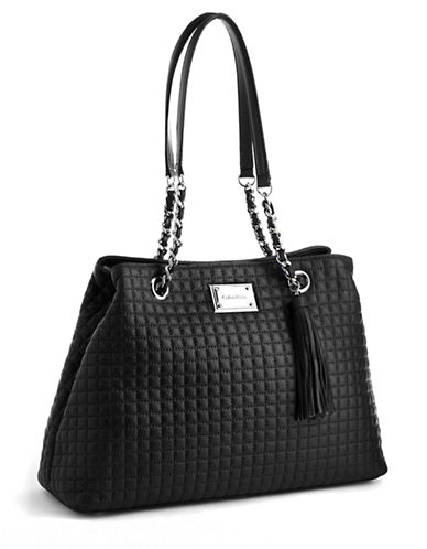 CALVIN KLEINQuilted Leather Tote