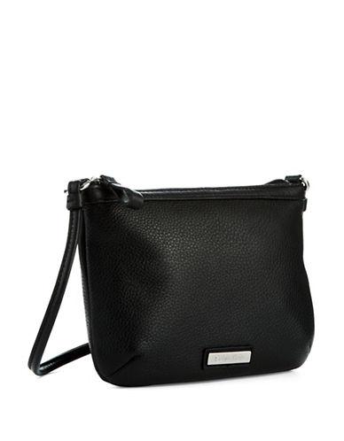CALVIN KLEINPebbled Leather Crossbody Bag