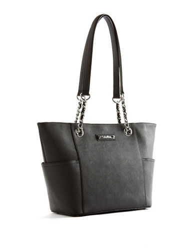 CALVIN KLEIN Quilted Saffiano Tote