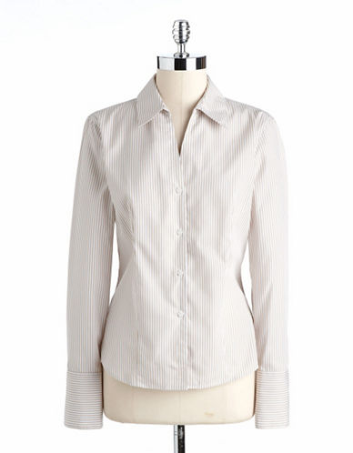 CALVIN KLEINStriped Cotton Shirt