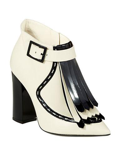 POLLINIRetro Fringe Ankle Boots
