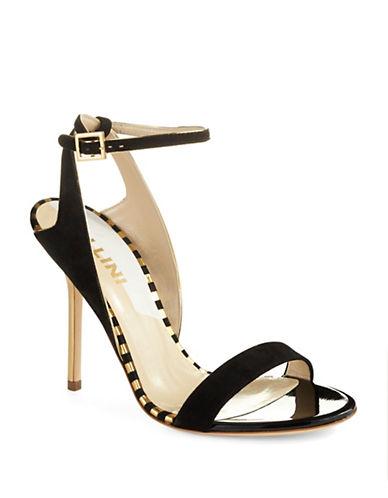 POLLINISuede Heeled Sandal