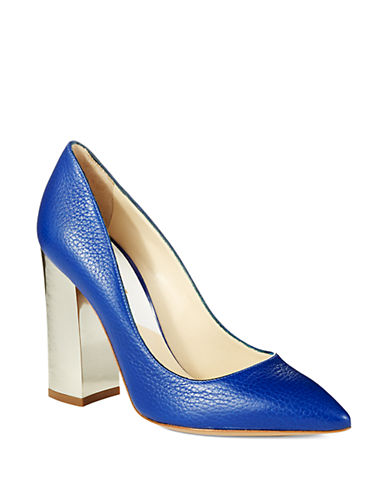 POLLINI Mirror Heel Pumps