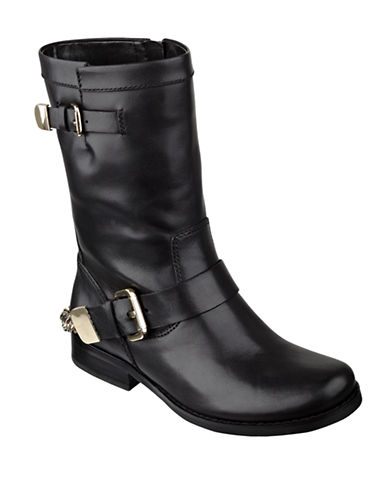 GUESS Girton Leather Boots
