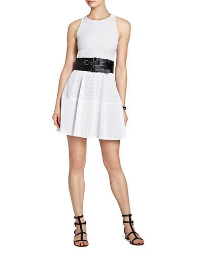 BCBGMAXAZRIACassandra Sleeveless A Line Lace Dress