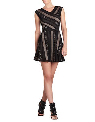 BCBGMAXAZRIAJasmyne Sleeveless A Line Lace Dress
