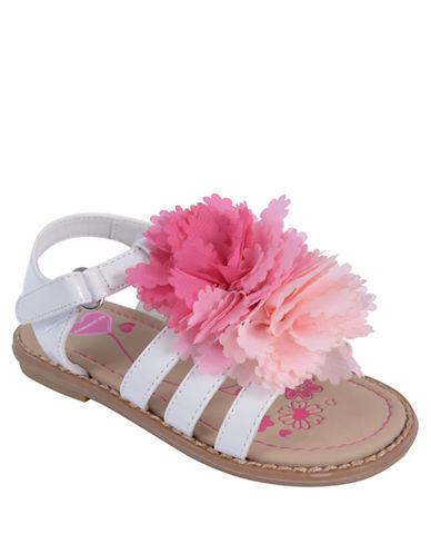 FLOWERS BY ZOEBeth Flower Slingback Sandals