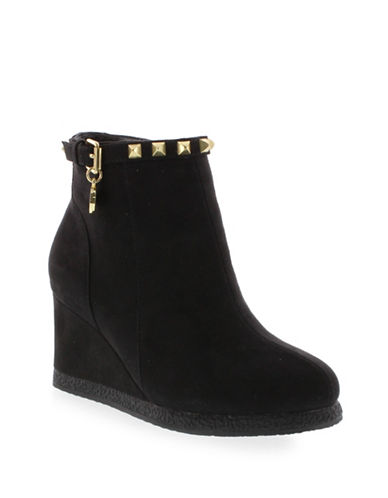 michael kors female kids studded wedge boots