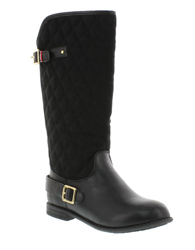 TOMMY HILFIGER Andrea Quilted Rider Boots