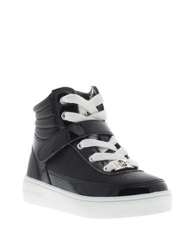 michael kors female ivy mae hightop laceup sneakers