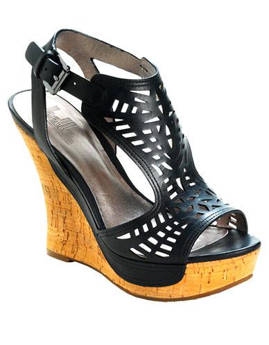 BELLE BY SIGERSON MORRISONBabita Platform Wedge Sandals