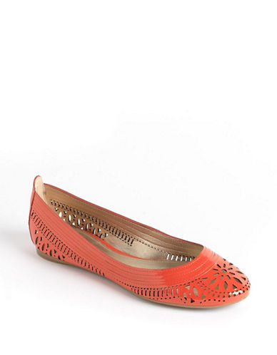 BELLE BY SIGERSON MORRISON Andromeda Leather Ballet Flats