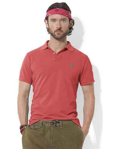POLO RALPH LAURENCustom-Fit Short-Sleeved Mesh Polo