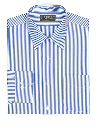 LAUREN RALPH LAURENSlim-Fit Bengal-Stripe Broadcloth Dress Shirt