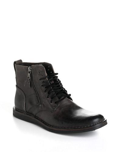 John Varvatos U.S.A. Barrett Side-Zip Chukka Boots